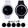 E07 Impermeable Gimnasio Rastreador Pasómetro Bluetooth Smartwatch Pulsera Reloj Inteligente para Android IOS teléfono Inteligente Usable Dispositivos