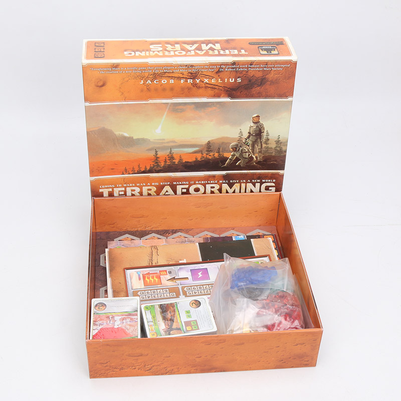 Terraform Mars Board Game Cards Game 1 5 Players to Play Best Gift Family Party Funny Gadgets Collection Indoor Entertainment