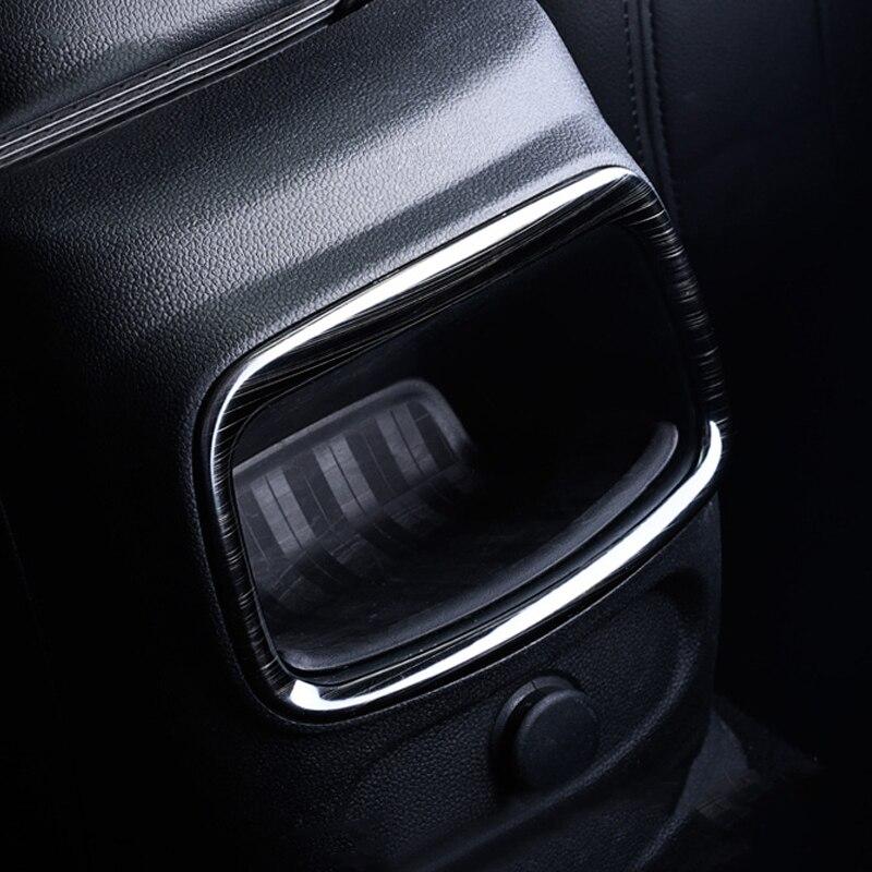 En Fiber De carbone Arrière de Voiture Climatisation Outlet Vent Cadre Cover Version Décoration Intérieure Pour Mini Cooper Clubman F54 De Voiture-style