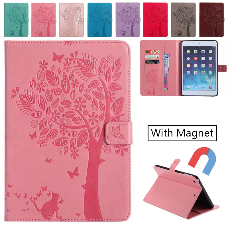 Case For ipad Mini 1 2 3 4 Luxury Pattern apple iPad Cover With Auto Wake/Sleep for 7.9