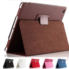 Case For iPad Air Folding PU Leather Flip Cover Auto Sleep/Wake up Smart Stand Case For iPad Air 1 Full Body Protective Cases