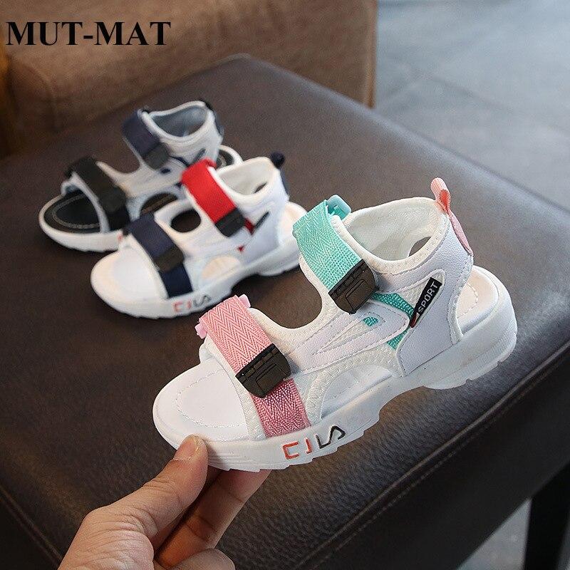 Girls Sandals 2019 New Fashion Casual Boys Shoes Summer Baby Soft Bottom Girls Children Sandals
