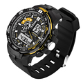 SANDA Mens watches top brand luxury Military Watch Men Sport Watch relogio masculino esportivo Quartz Digital Watch Clock Men