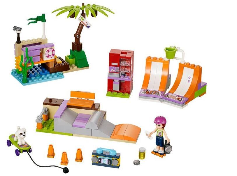 Lepin Heartlake Skate Park 202pcs Boy for Girl Princess Series Building Block Compatible gift Toys For Children