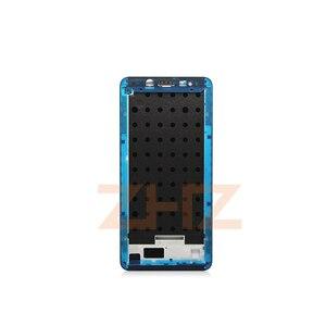 Image 5 - Đối với Xiaomi Redmi Note 5 Pro Trung Khung Tấm MÀN HÌNH LCD Hỗ Trợ Mid Faceplate Khung Bezel Nhà Ở Thay Thế Sửa Chữa Phụ Tùng