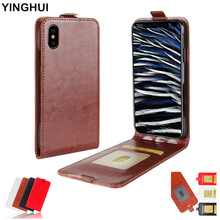 XINGDUO Case for iPhone 6 6S 7 8 Plus Luxury PU Leather Flip Cover iphone X XS XR MAX Business phone case