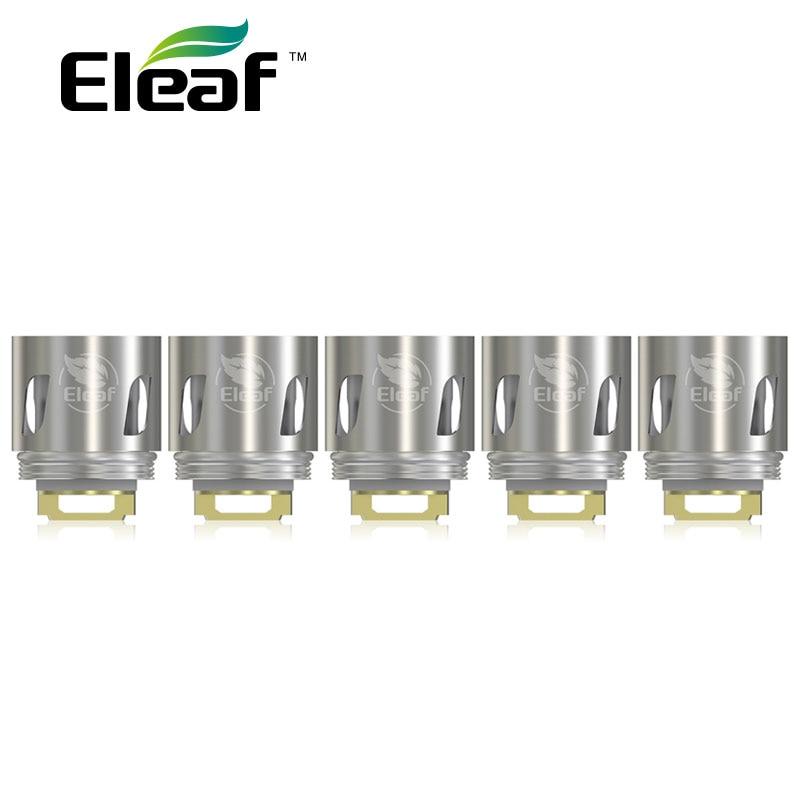 5 unids eleaf hw1 solo Culatas y hw2 doble Culatas para ello mini y ello mini XL/ hw1 0.2ohm/hw2 0.3ohm