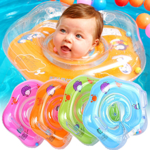 Baby Swimming Accessories Neck Ring Tube Safety Infant Float swim Circle Big Dolphin Inflatable Hose for Kids Bathing 0 3 years baby swimming ring neck tube ring safety infant neck float circle for baby swimming pool bathing inflatable
