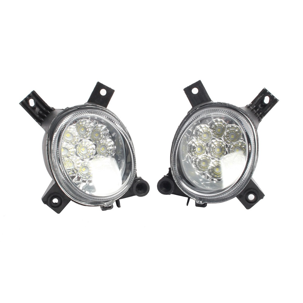 Left Right Front Bumper Lower LED Fog Light Lamp For AUDI A4 B7 A3 S Line S3 8P RS3