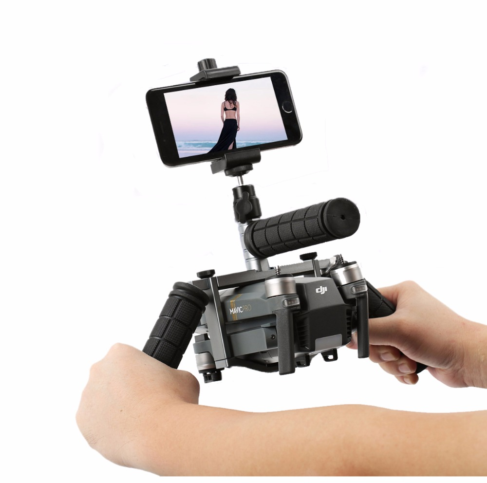 Cinema Tray Metal Handheld Gimbal Camera Stabilizer Bracket Kit for DJI Mavic Pro and Platinum Version Drone Accessories