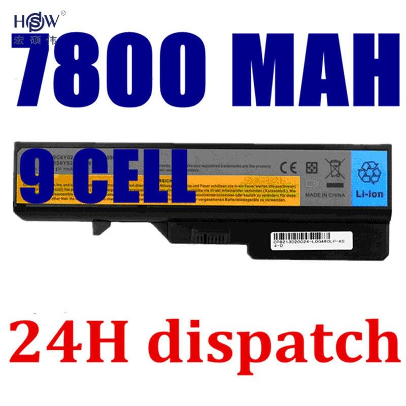 HSW Laptop Battery For LENOVO IdeaPad G460 G465 G470 G475 G560 G565 G570 G575 Z460 V370 V470 V570 L09M6Y02 L10M6F21 LO9L6Y02 стоимость