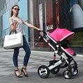 Carrinho de bebê sentado dobrável ultra portátil carrinho de BB bebê criança crianças verão paisagem