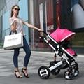 Cochecito de bebé sentarse plegable ultra portátil BB bebé niño niños verano paisaje cesta