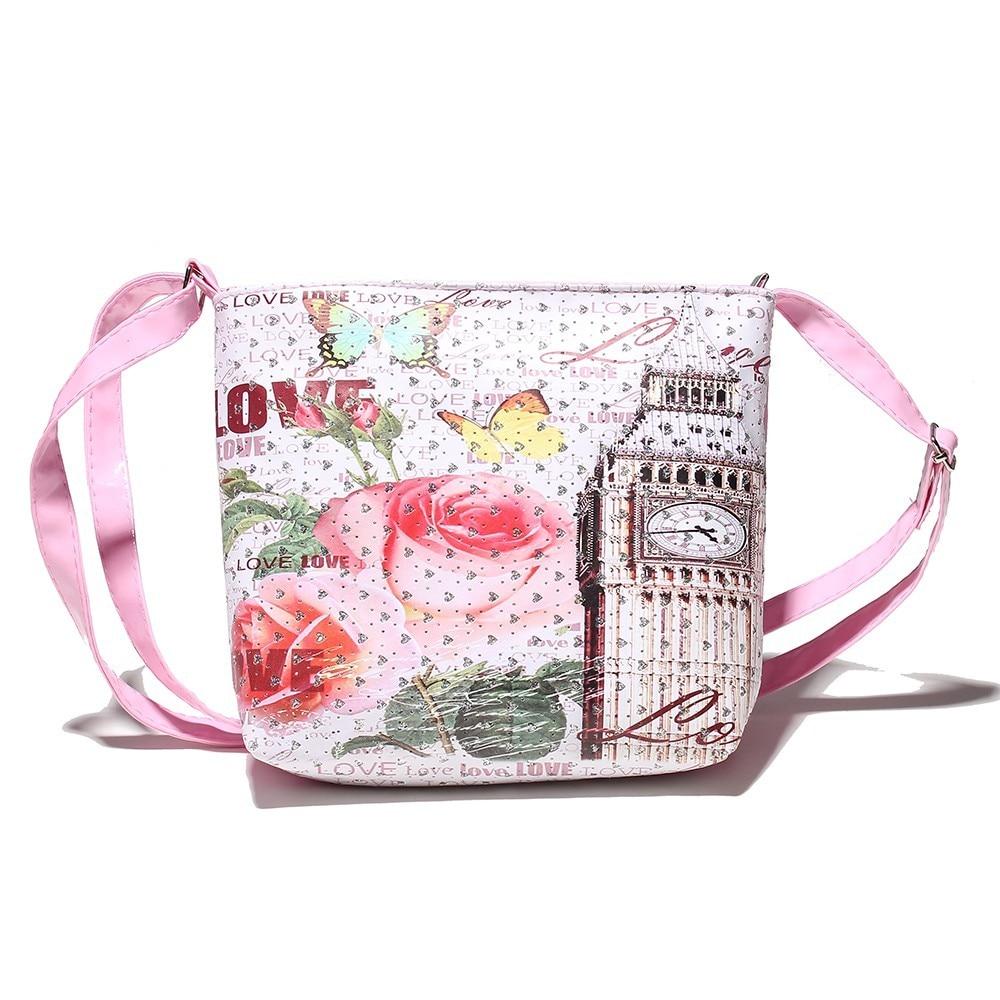 2017 New Kids Children Girls Satchel Shoulder Bags Handbag Messenger Bag  Lovely Children 506feb8d7c637