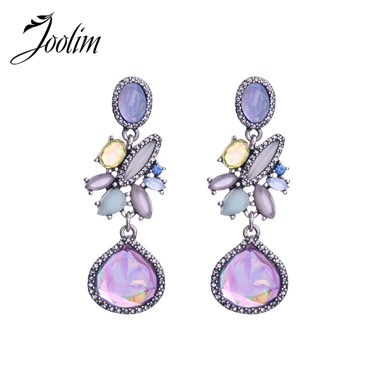 5d2f0c52e7a45 JOOLIM Statement Earring Causal-to-Cocktail Earring Evening Earring  Wholesale High Quality Black Friday Deal