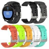 Силиконовый сменный аксессуар часы ремешок Браслет для Suunto 9 и Suunto Spartan спортивные наручные часы HR Baro Smartwatch