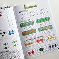 Математическая Рабочая книга для китайских детей/детское сложение и вычитание (From1-20) обучающая игра книга математические навыки для детско...