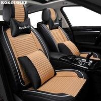 KOKOLOLEE New Car Seat Cover Universal auto seats covers for alfa 147 156 159 166 romeo giulietta Giulia Stelvio MiTo styling