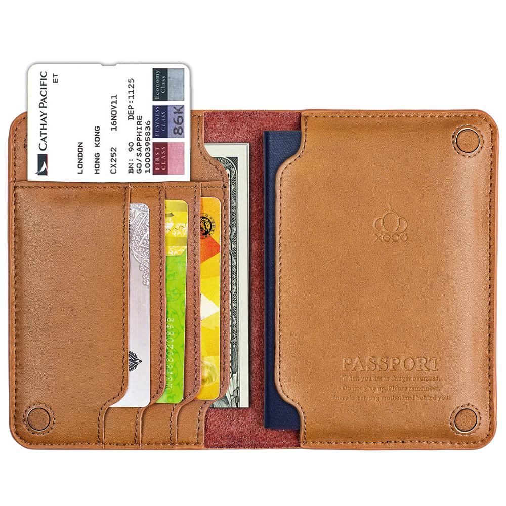 High Quality Genuine Leather Passport Holder Passport Cover