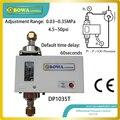 Дифференциальный переключатель давления измеряет разницу давления между линиями подачи масла и обратными линиями в компрессорной смазке