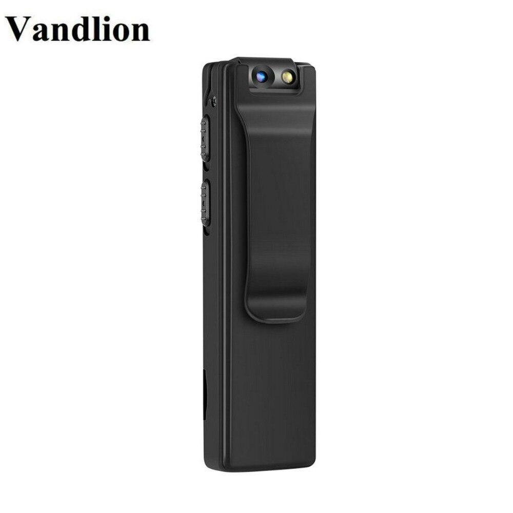 Vandlion A3 Mini cámara Digital HD linterna Micro Cam cuerpo magnético cámara de detección de movimiento instantánea de grabación en bucle Camcorder