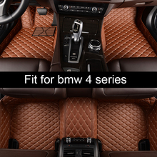 цена на lsrtw2017 leather car floor mat for BMW F07 535gt 2011 2012 2013 2014 2015 2016 2017 2018 2019 accessories rug carpet styling