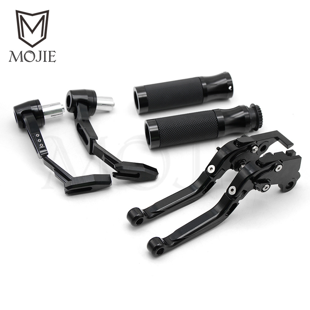 Motorcycle Brake Clutch Levers Handle Bar Hand Grips Lever Guard Guards Set For CBRR CBF X 13-18 CBR R CB F