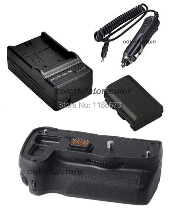 New 2-Step Vertical Power Shutter Battery Handle Grip For Pentax K-7 K7 K-5 K5 SLR Camera as D-BG4 DBG4 +1 x D-LI90 +Car Charger