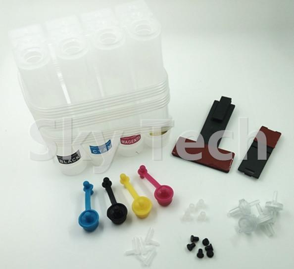 standard pack universal ciss ferramentas de diy para canon hp ciss cartuchos de cabecas de impressao