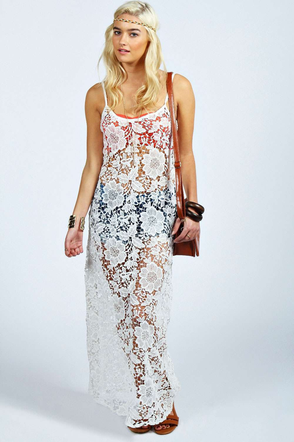 435533a806 NEW arrival! womens beach cover up dresses Sexy White Lace Summer Beach  Maxi Kaftan Tunic Dress plus size Swim Suit Cover Ups