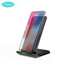 10W Wireless Charger Phone Holder For Mi 9 iPhone Fast Wireless Charging Base Docking Station For Samsung Galaxy S10