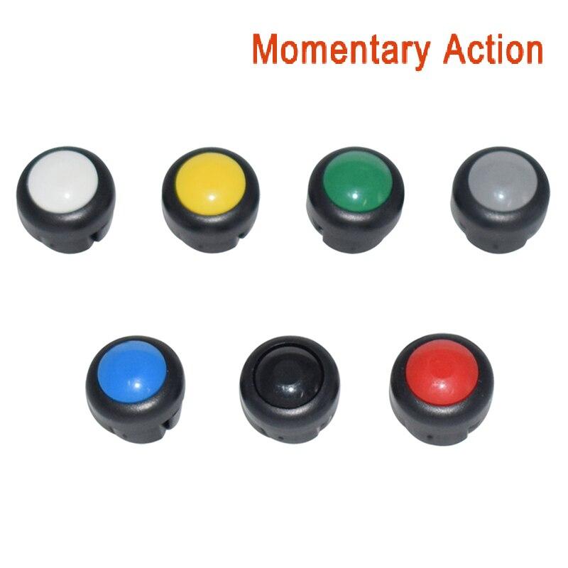 7 x кнопка включения мотоцикла сигнал поворота Высокий Низкий Луч Электрический старт Kill ON OFF кнопки мгновенного действия с фиксацией - Цвет: Set B