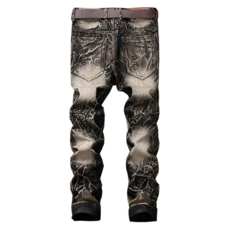 Купить джинсы с вышивкой мужские
