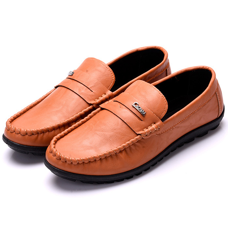 Men Loafers New Fashion Men Casual Shoes Slip On Breathable Men Flat Driving Moccasins Men Shoes High Quality Moccasins mens klywoo breathable men s casual leather boat shoes slip on penny loafers moccasin fashion casual shoes mens loafer driving shoes