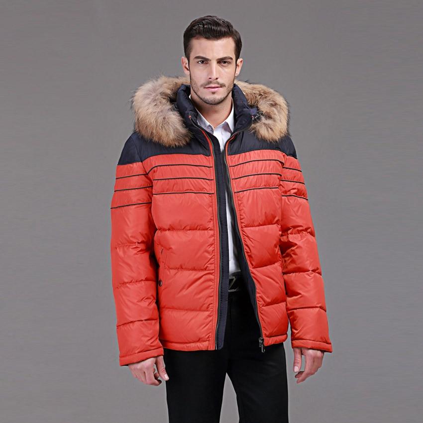 Winter donsjack mannen Europa en VS min 40 graden warme eend donsjack - Herenkleding - Foto 3