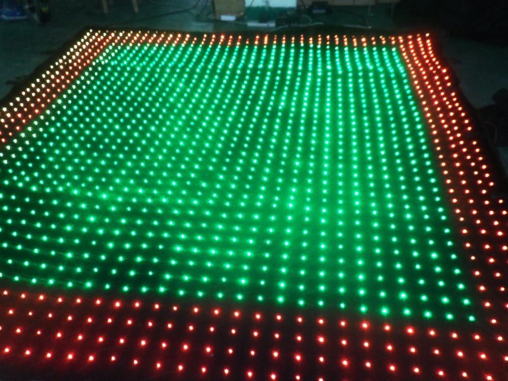 P9 3M * 4M PC Mod yang diketuai tirai video DJ Peringkat Latar - Pencahayaan komersil - Foto 5