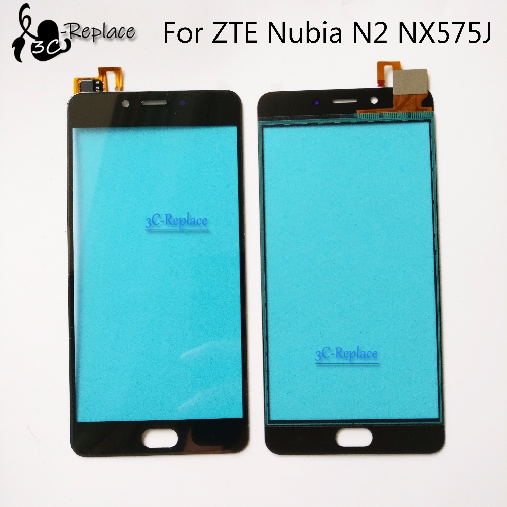 Black/White 5.5 For ZTE Nubia N2 NX575J Touch Panel High Quality N2 Touch Screen Digitizer Replacement parts Tracking Number(China)