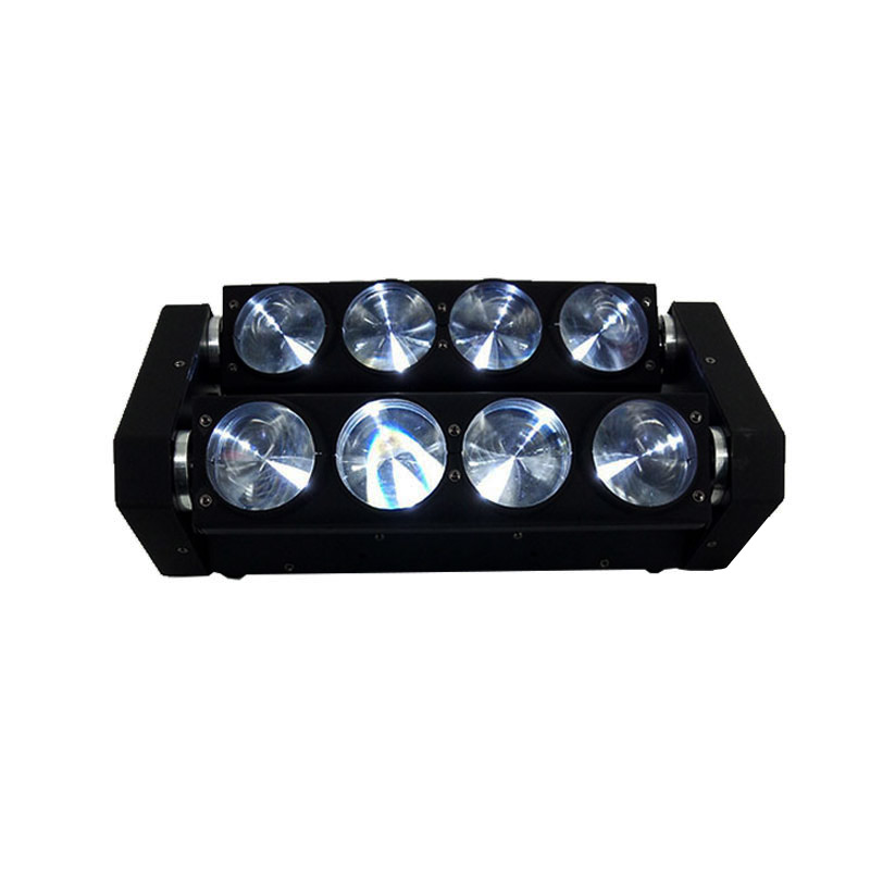 Lot Hot Sale Free Shipping RGBW 4in1 LED Spider Beam Light LED 8x10w Bar Beam Moving Head Beam LED Spider Light RGBW