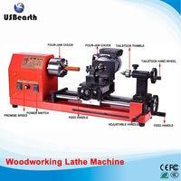 Mini woodworking lathe wooden beads processing hand string Miniature Buddha machine JF 6030