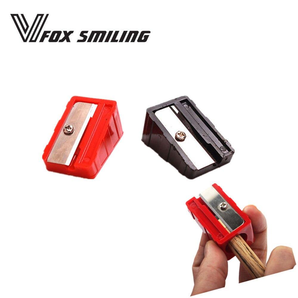 apontador ferramentas preto vermelho cores acessórios de bilhar