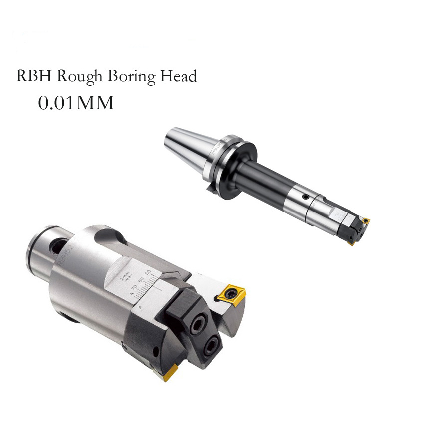 High precision RBH40-55mm Twin-bit Rough Boring Head used for deep holes accuracy 0.02mm used for deep holes made in China ccmt120408 high precision rbh90 122mm twin bit rough lbk6 boring head used for deep holes accuracy used for deep holes