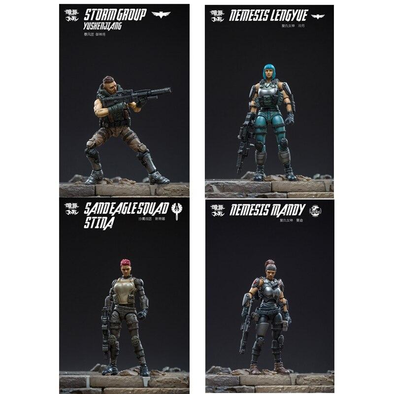 1/25 JOYTOY figurine femme soldat cellation Collection modèle militaire jouet pour cadeau d'anniversaire présent livraison gratuite