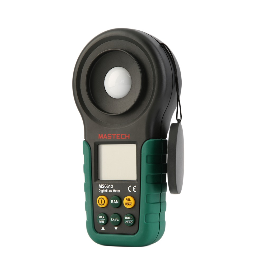 ФОТО 200,000 Lux Light Meter Test Spectra Auto Range Digital Luxmeter MS6612 Free Shippnig  Brand New