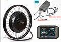 ¡Bluetooth! Kit de conversión de motor de cubo de bicicleta eléctrica 72 v 8000 w QS 273 con pantalla colorida TFT