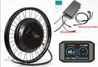 Bluetooth ! 72v 8000w QS V3 273 electric bike hub motor conversion kit with TFT colorful display