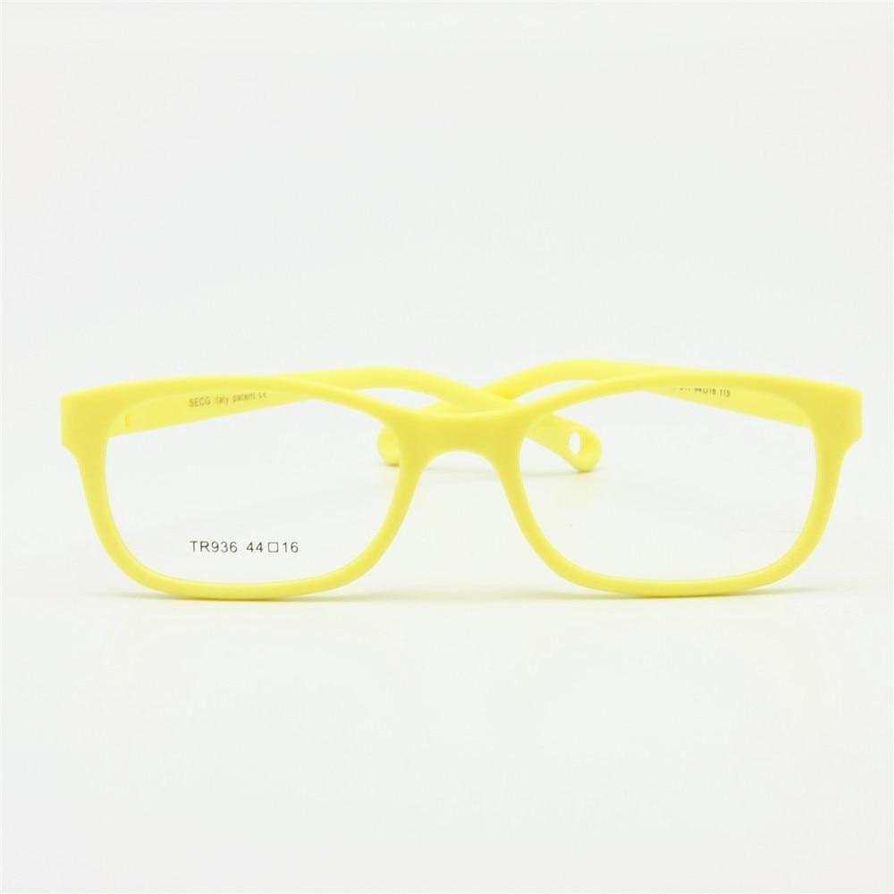 Flexible Kids Eyeglasses Frame Size 44/16 TR90 Children Glasses, No Screw, Unbreakable Safe Light Boys Girls Optical Glasses