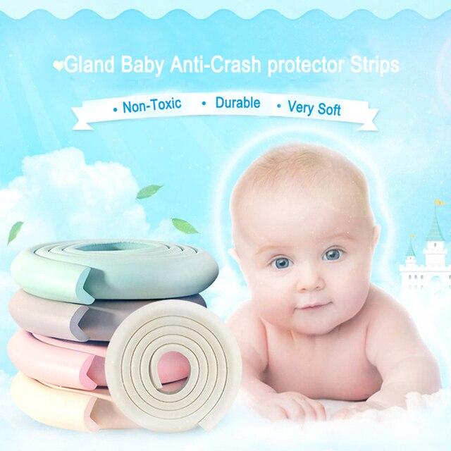 Gl 4m Long Baby Anti Crash Protector Strip Furniture Edge Corner Stopper Table Protective Cushion