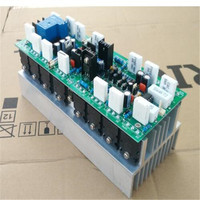 HIFI High power 1000W Home stage Professional 2CA1837/2SC4793 pushing TTC5200 / TTA1943 mono amplifier board in heatsink