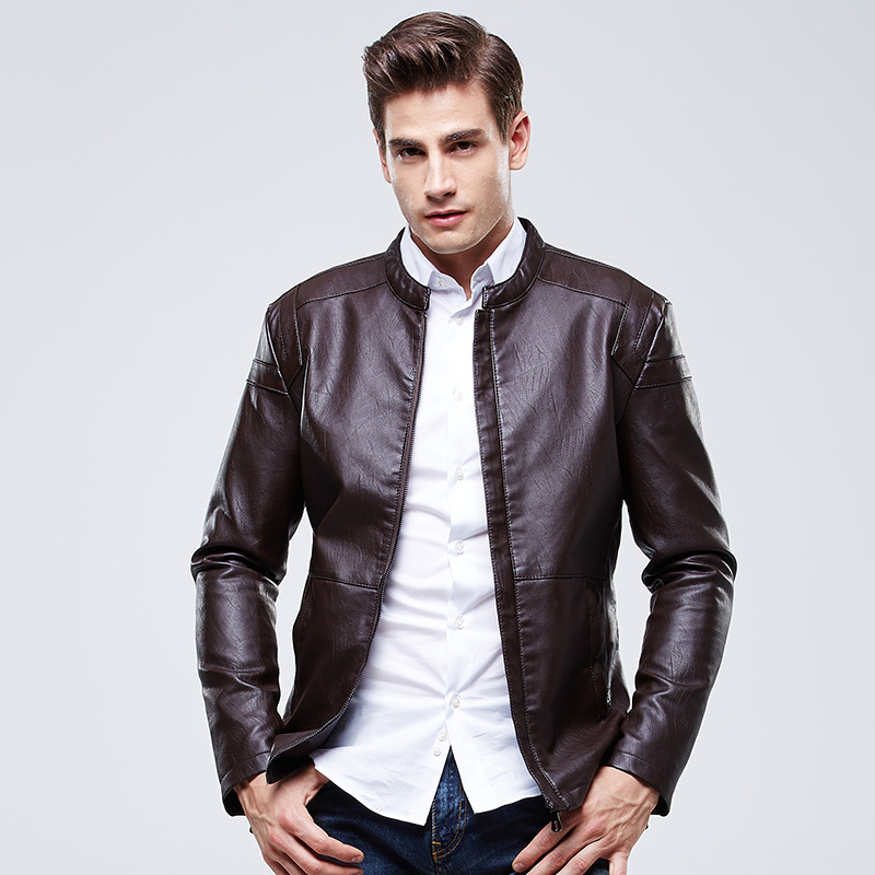High fashion leather jackets men 7