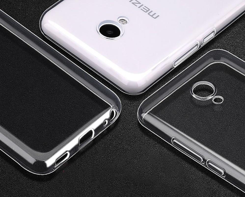 Untuk Meizu M5 M5S M5C Kasus Silikon Lembut TPU Ultra tipis - Aksesori dan suku cadang ponsel - Foto 5